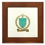 LEPRIEUR Family Crest Framed Tile