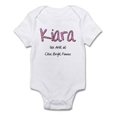 Kiara Infant Bodysuit