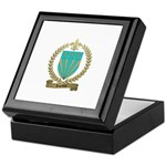 LEPRIEUR Family Crest Keepsake Box