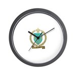 LEPRIEUR Family Crest Wall Clock