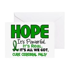 HOPE Cerebral Palsy 1 Greeting Card
