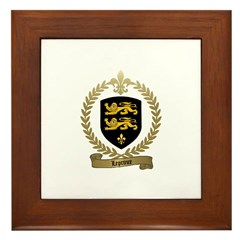 LEPRINCE Family Crest Framed Tile