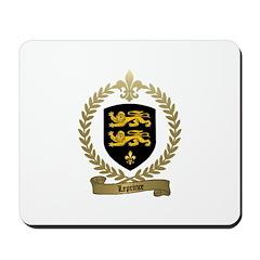 LEPRINCE Family Crest Mousepad