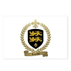 LEPRINCE Family Crest Postcards (Package of 8)