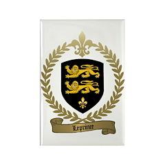LEPRINCE Family Crest Rectangle Magnet