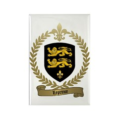 LEPRINCE Family Crest Rectangle Magnet (100 pack)