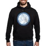 Celtic Mother Moon Design Black Hoodie