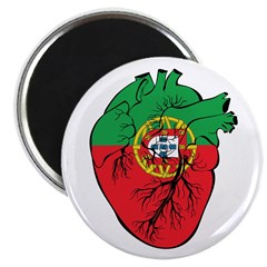 "Heart Portugal 2.25"" Magnet (10 pack)"