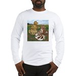 Two Trumpeter Pigeons Long Sleeve T-Shirt