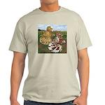 Two Trumpeter Pigeons Light T-Shirt