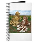 Two Trumpeter Pigeons Journal