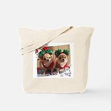 Chihuahua Xmas Tote Bag