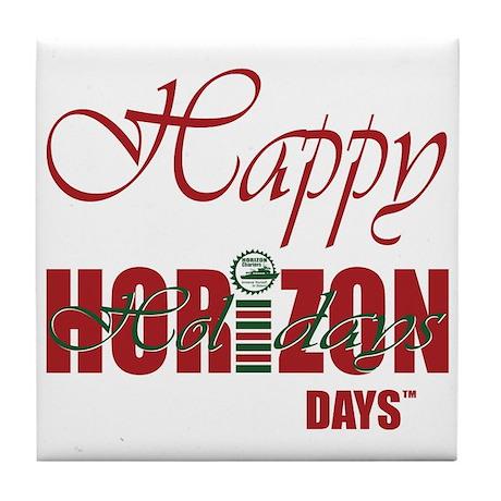 Happy HORIZON Days Tile Coaster