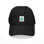 LEROUX Family Crest Black Cap