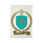 LEROUX Family Crest Rectangle Magnet (100 pack)