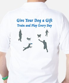 Give Your Dog a Gift Golf Shirt