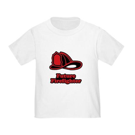 Future Firefighter (Helmet) Toddler T-Shirt