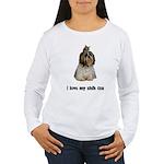 I Love My Shih Tzu Women's Long Sleeve T-Shirt