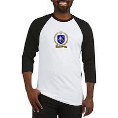 LESOURD Family Crest Baseball Jersey
