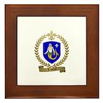 LESOURD Family Crest Framed Tile