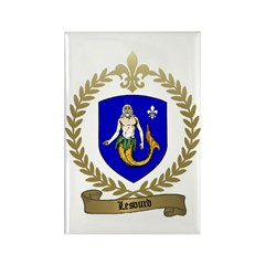 LESOURD Family Crest Rectangle Magnet (100 pack)