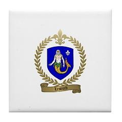 LESOURD Family Crest Tile Coaster