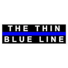 The Thin Blue Line Bumper Bumper Sticker
