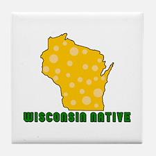 Wisconsin Native Tile Coaster