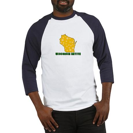 Wisconsin Native Baseball Jersey