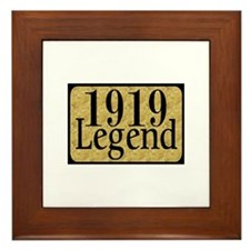 1919 Framed Tile