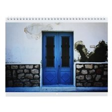 Cute Greece Wall Calendar