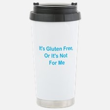 Gluten Free Or Not For Me Stainless Steel Travel M
