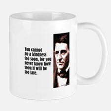 "Emerson ""A Kindness"" Mug"