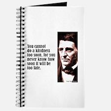 """Emerson """"A Kindness"""" Journal"""