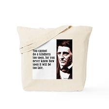 "Emerson ""A Kindness"" Tote Bag"