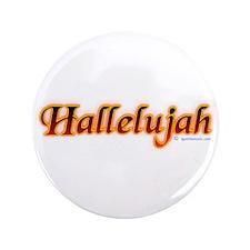 """Hallelujah 3.5"""" Button"""
