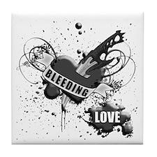 BLEEDING LOVE V2 Tile Coaster
