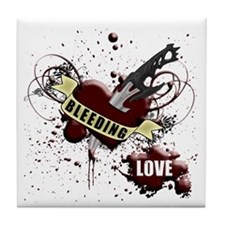 BLEEDING LOVE V1 Tile Coaster