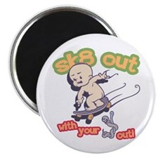 Sk8 out - Bait Out! Magnet