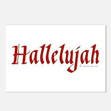 Hallelujah Postcards (Package of 8)