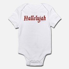 Hallelujah Infant Bodysuit