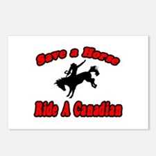 """""""Save Horse, Ride Canadian"""" Postcards (Package of"""