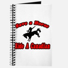 """Save Horse, Ride Canadian"" Journal"