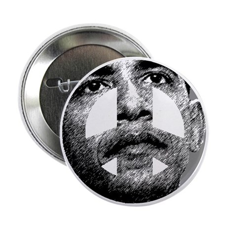 "Obama Peace Sign 2.25"" Button (10 pack)"