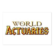World of Actuaries Postcards (Package of 8)
