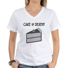 Cake or Death Shirt
