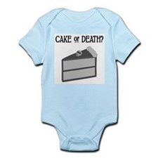 Cake or Death Infant Bodysuit