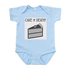Cake or Death Onesie