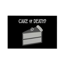 Cake or Death Rectangle Magnet (10 pack)