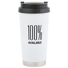 100% Available Travel Mug